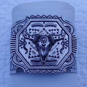 Gorgeous Silver Western Cuff Bracelet!!!
